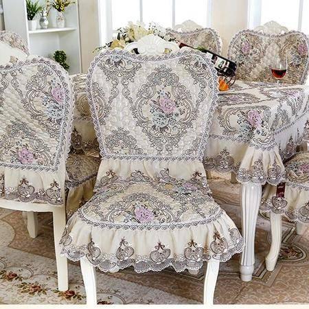 包邮  左岸春天花香漫城欧式椅套 坐垫加靠背 布艺套装(二)