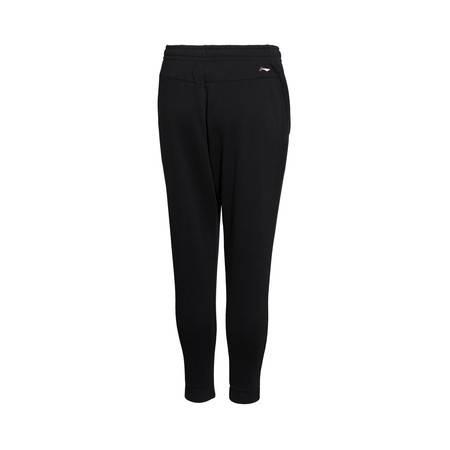 包邮  李宁2016新款女子CBA篮球保暖宽松型半罗纹收口卫裤运动裤AKLL368