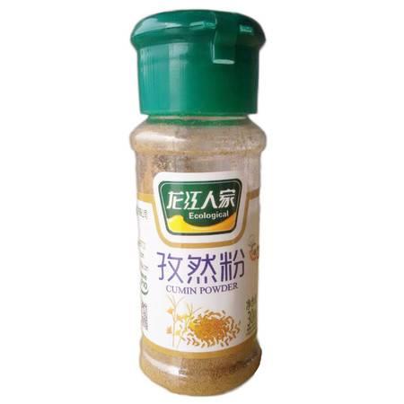 龙江人家孜然粉烧烤调料厨房必备调味料佐料瓶装30g