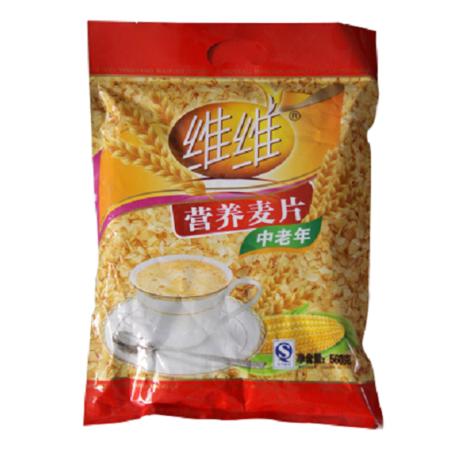 维维 中老年营养麦片560g即食冲饮谷物代早餐