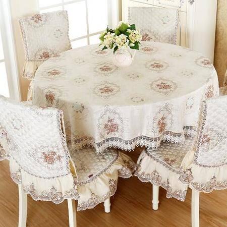 包邮左岸春天同心缘茶 直径180cm圆桌布现代简约 欧式桌布 家用(一)