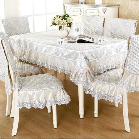 包邮左岸春天埃米尔现代简约欧式提花中式椅套椅垫套装 (二)