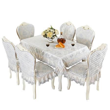 包邮左岸春天埃米尔现代简约欧式提花欧式椅套椅垫套装 (二)