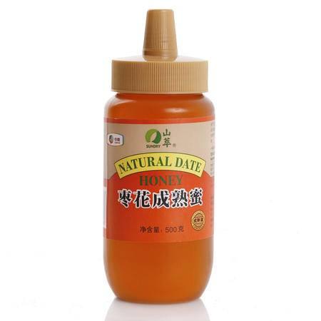 中粮 山萃枣花成熟蜂蜜500g 纯天然野生 农家产成熟蜜