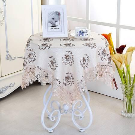包邮左岸春天艾维斯茶80*80cm茶几布长方形客厅蕾丝桌布布艺 正方形桌子布艺现代简约圆桌台布