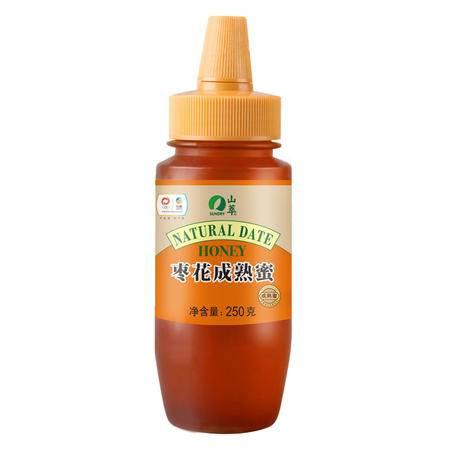 中粮山萃枣花成熟蜜250g 天然农家自产 枣花蜂蜜
