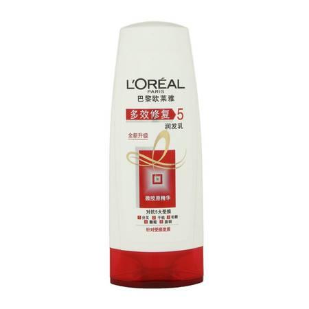 欧莱雅/L'OREAL 多效修护润发乳200ml 针对受损发质