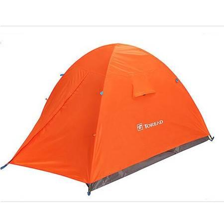 探路者/TOREAD 户外露营沙滩旅行三人双层帐篷防风防雨KEDE80501