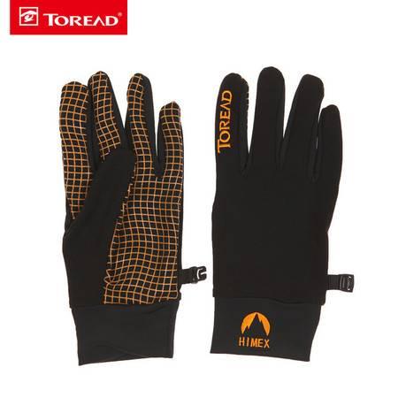 探路者/TOREAD 新款户外男女通用防滑保暖手套HELE80009
