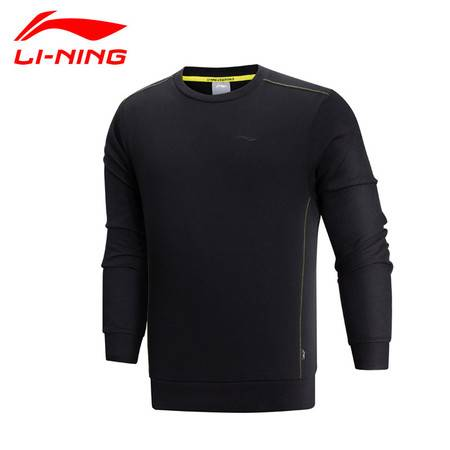 包邮 李宁/LI NING 2016新款男子套头衫长袖薄棉外套运动 AWDK957