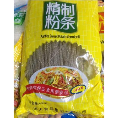 龙大 粉条400g 纯苕粉 纯红薯淀粉制作 吃火锅少不了 0添加剂