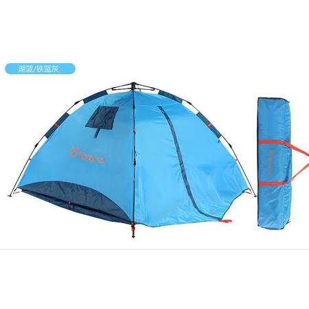 探路者/TOREAD 2016秋季新款户外露营野外3-4人免搭速开自动帐篷TEDE90842