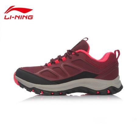 包邮 李宁/LI NING 2016新款女子保暖户外徒步鞋女运动鞋AHTL024