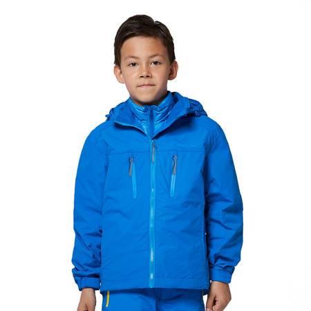 探路者/TOREAD 2016年新款户外童装男童三合一套羽绒冲锋衣TJCJ75101-D