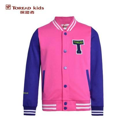 探路者/TOREAD 女童棒球夹克-TJWJ15214-D