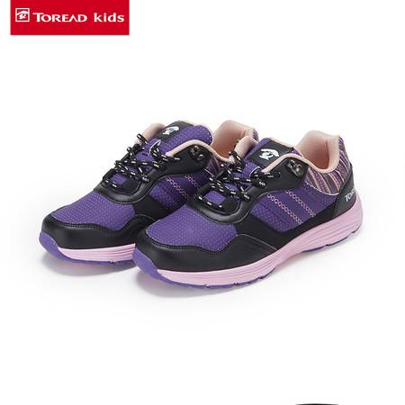 探路者/TOREAD 女童户外低帮徒步童鞋 TAEJ51203-D