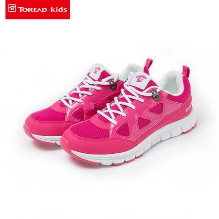 探路者/TOREAD 儿童运动鞋2016秋季新款女童运动鞋中大童网鞋女童运动鞋TAEJ51206-D