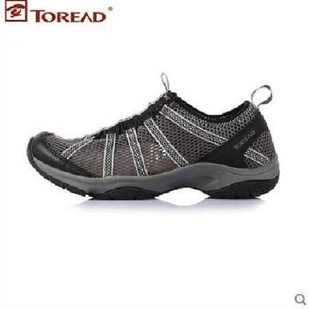 探路者/TOREAD 新款减震高帮男轻加绒越野旅游徒步鞋TFAD81017