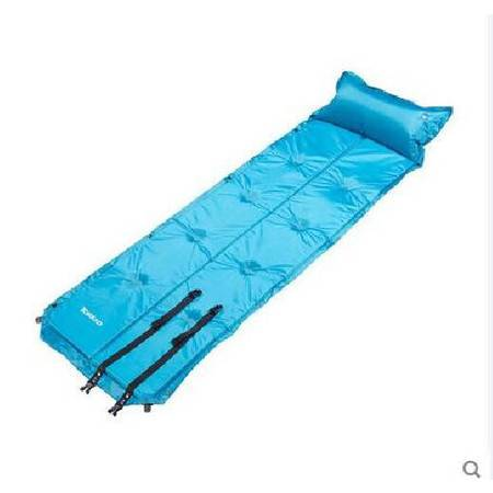探路者/TOREAD 户外休闲加厚便携单人防潮垫露营睡垫自动充气垫TEFD80307