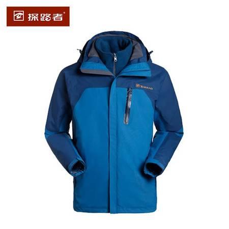 探路者/TOREAD 冲锋衣冬新款男式TIEF套绒衣 KAWD91322