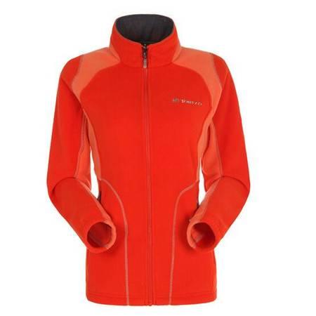 探路者/TOREAD 秋冬户外女式可套穿开衫保暖抓绒衣KACD92524