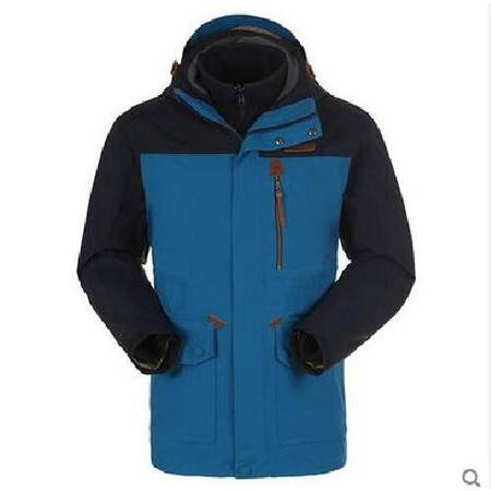 探路者/TOREAD 男款防水保暖套绒冲锋衣TAWB91201