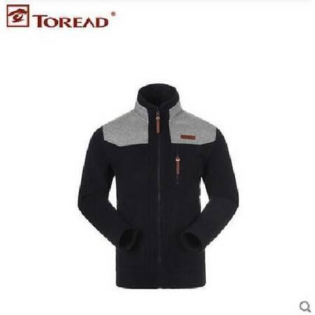 探路者/TOREAD 抓绒衣男款开衫秋冬季加厚户外保暖外套运动卫衣 TAUD91798