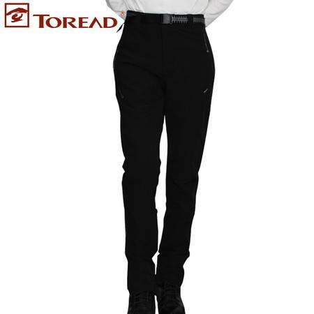 探路者/TOREAD 秋冬新款女裤户外弹力旅行休闲裤徒步长裤KAMD92566