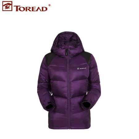 探路者/TOREAD 秋冬女式保暖可收纳保暖羽绒服面包服HADD92082