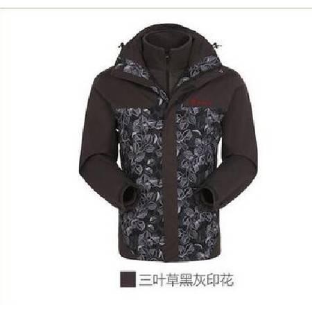 探路者/TOREAD 秋冬男新款套绒冲锋衣防水透湿KAWE91503