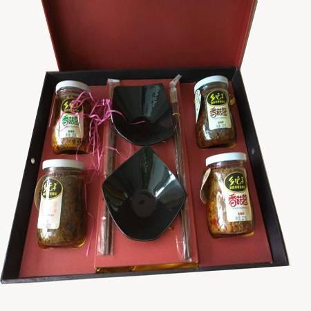 乡坛子 香菇酱礼盒