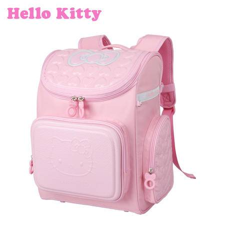 HelloKitty小学生女童护脊椎贵族书包 健康护脊减负