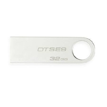 金士顿(Kingston) DataTraveler SE9 32GB 金属U盘 银色
