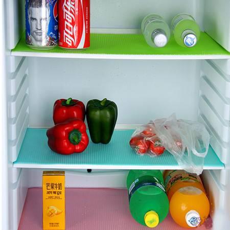 MULTI-AI艾多 加厚EVA冰箱橱柜垫4片装 45*30cm餐桌垫 防潮防霉垫