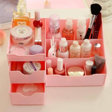 艾多 MULTI-AI 多层抽屉式化妆品收纳盒 饰品收纳宝 四色可选