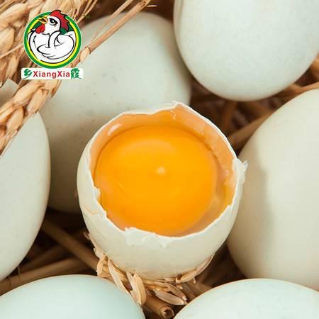 乡霞绿壳土鸡蛋 农家散养新鲜绿壳土鸡蛋30枚装