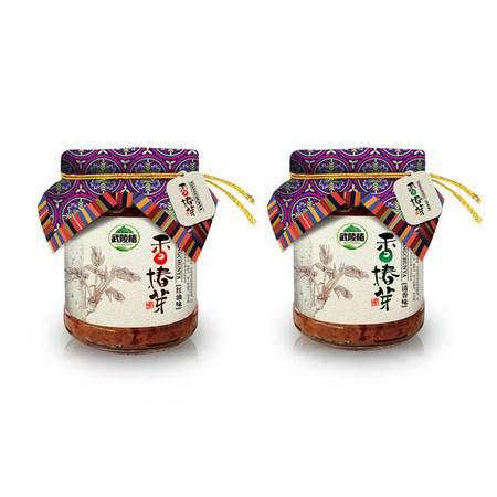 秀山特产武陵椿 香椿芽 香辣味150g(罐装)