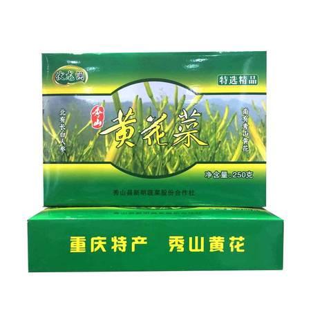 秀山农特产伏龙洞 黄花菜 250克(盒装)