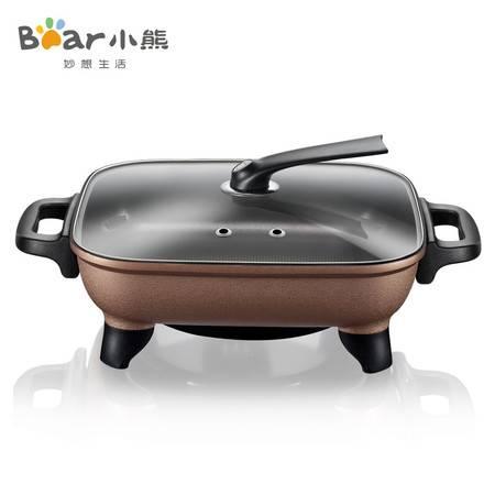 Bear/小熊 DHG-C1128 电火锅韩式多功能电热锅电炒锅 不粘锅