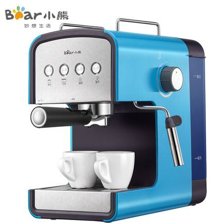 Bear/小熊 KFJ-A13H1意式咖啡机家用商用全半自动蒸汽式煮咖啡壶