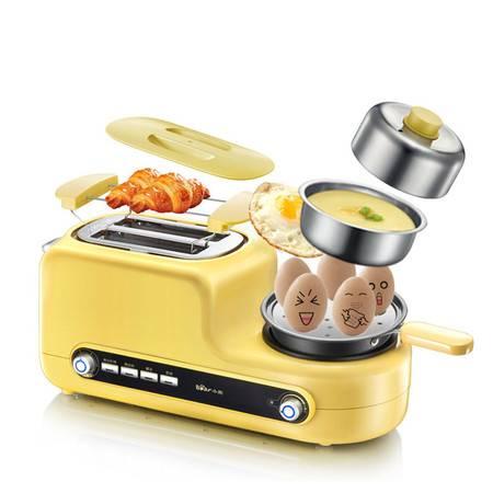 小熊DSL-A02Z1烤面包机家用2片早餐多士炉全自动吐司机