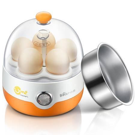 小熊(Bear)煮蛋器自动断电多功能迷你不锈钢煮蛋机蒸蛋羹ZDQ-2201