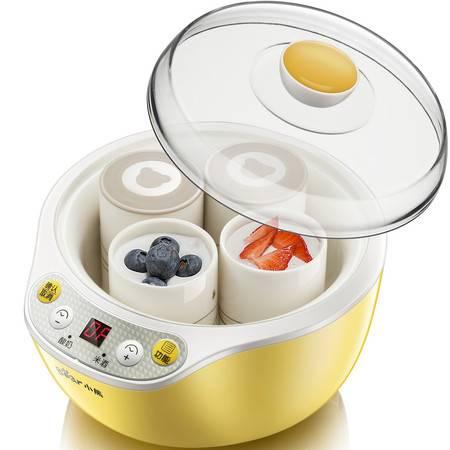 Bear/小熊 SNJ-B10K1家用全自动不锈钢内胆 酸奶机陶瓷分杯发酵机