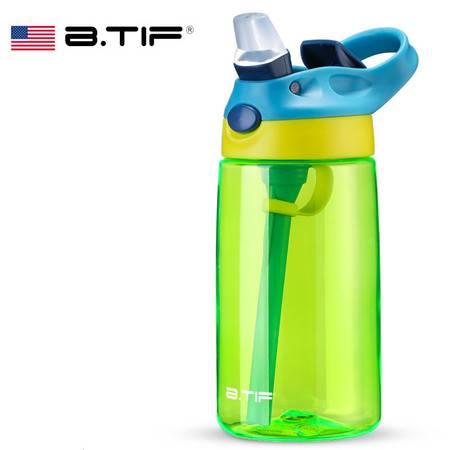 BTIF 美国夏季儿童吸管杯防漏宝宝水壶幼儿园防摔小学生水杯便携B000103STR