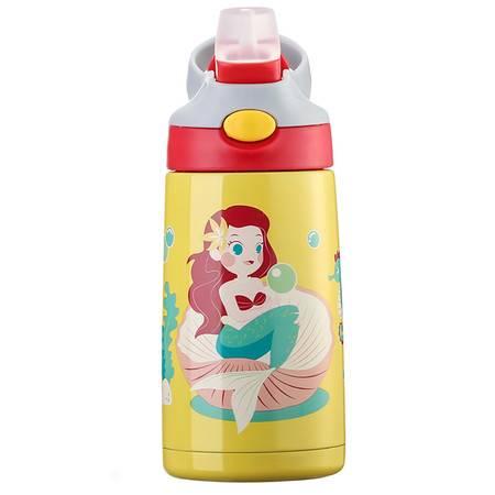 BTIF美国儿童吸管保温杯幼儿园男女宝宝水杯小学生不锈钢水壶防摔 STB0301STR