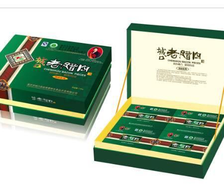 """重庆城口特产""""赵孝春""""简装休闲食品礼品盒1.5kg"""