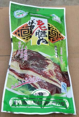 """重庆城口特产""""""""柏肴""""腊肉500g"""