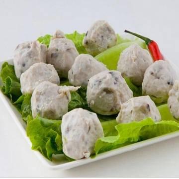 武汉梁子湖 梁子香菇贡丸 2.5kg*4袋 加工速食