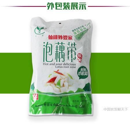 健康  香脆 泡藕带  400g/袋