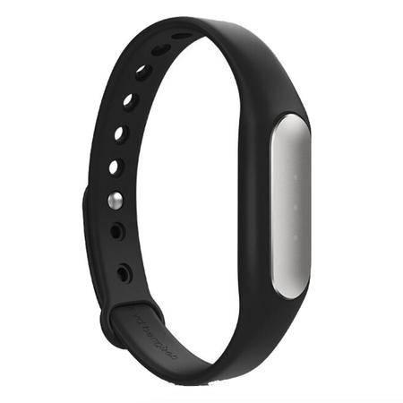 小米(MI)小米智能手环 光感版 心率手环(黑色腕带)